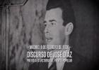 Discurso de José Díaz (PCE) previo a la victoria del Frente Popular